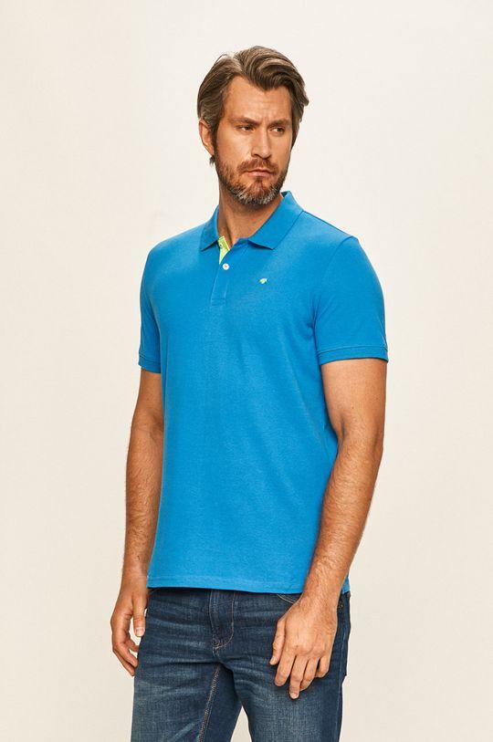 modrá Tom Tailor Denim - Polo tričko Pánský