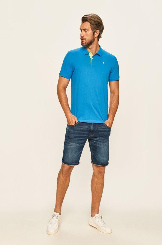 Tom Tailor Denim - Polo tričko modrá
