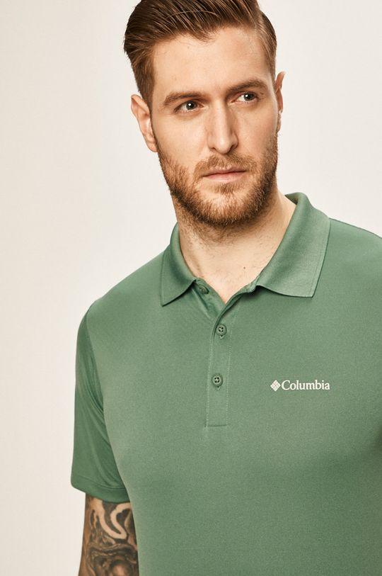 turcoaz Columbia - Tricou polo De bărbați