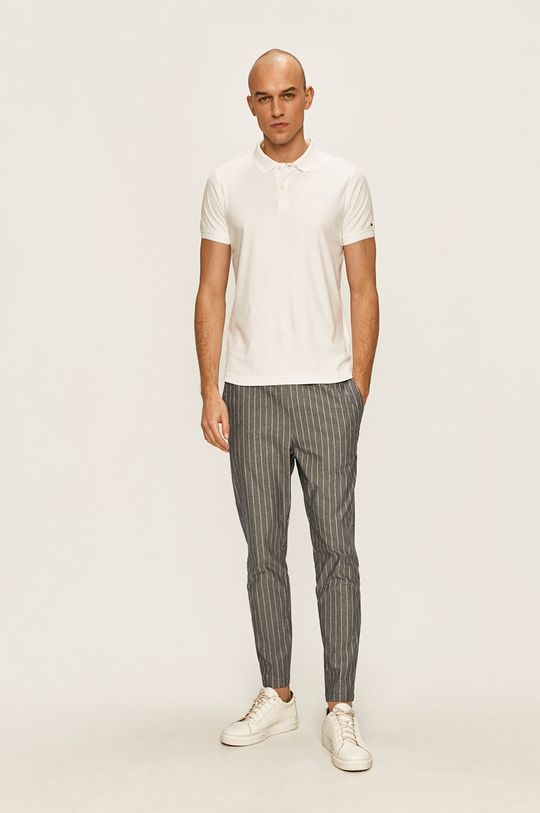 Tommy Hilfiger Tailored - Tricou polo alb