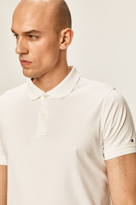 alb Tommy Hilfiger Tailored - Tricou polo
