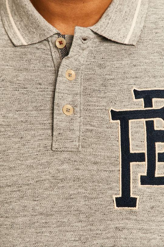světle šedá Premium by Jack&Jones - Polo tričko