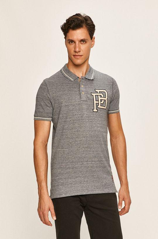 námořnická modř Premium by Jack&Jones - Polo tričko