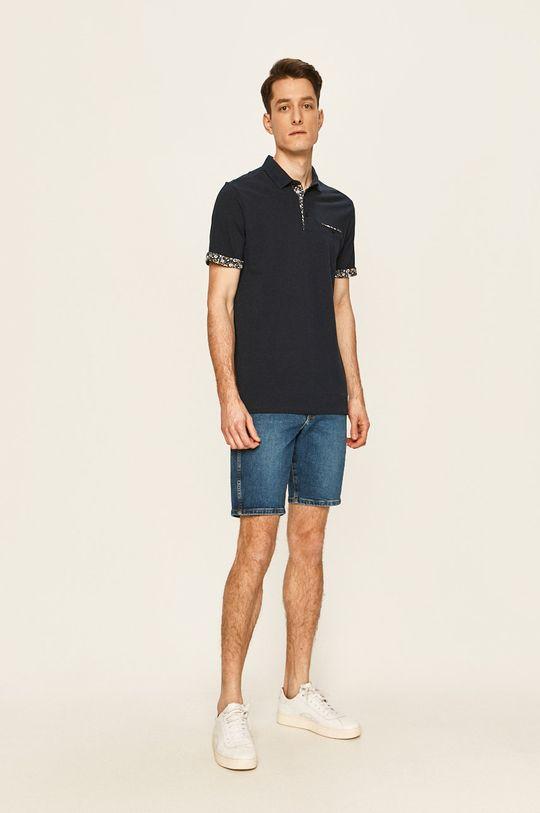 Premium by Jack&Jones - Polo tričko námořnická modř