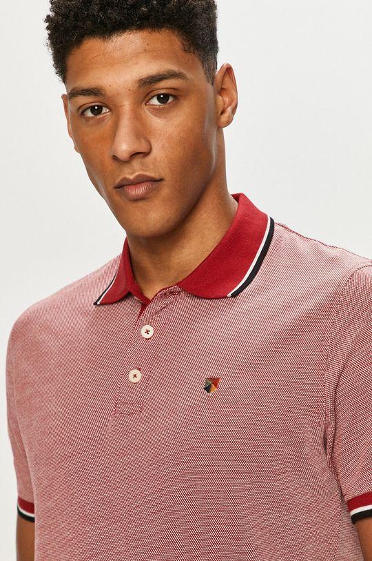červená Premium by Jack&Jones - Polo tričko
