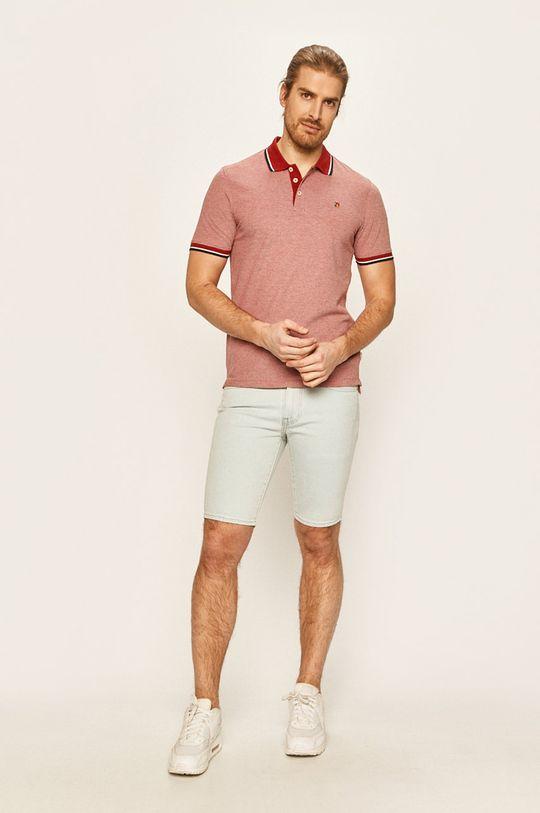 Premium by Jack&Jones - Polo tričko červená