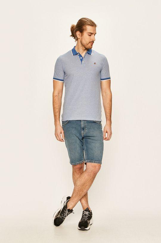 Premium by Jack&Jones - Polo tričko modrá