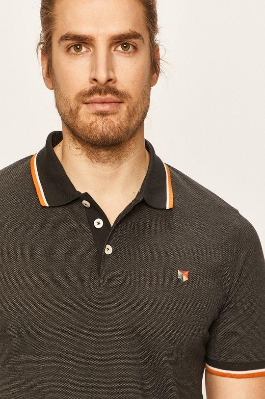 Premium by Jack&Jones - Polo tričko černá