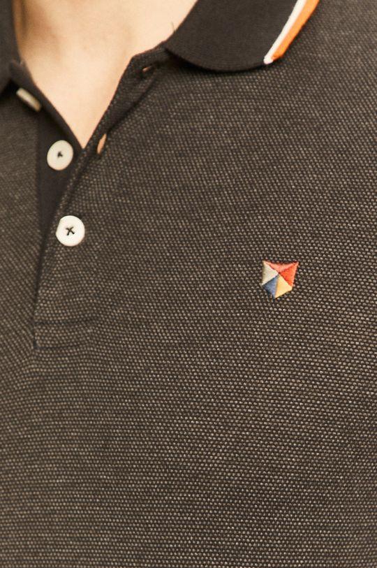 černá Premium by Jack&Jones - Polo tričko