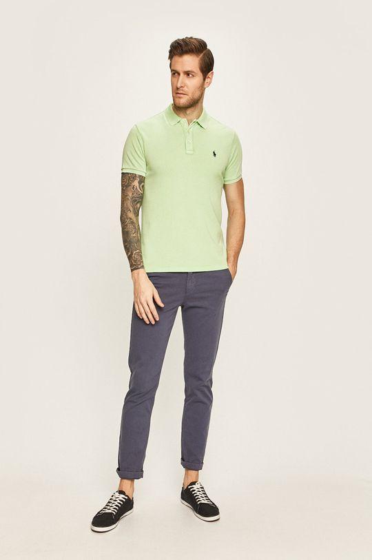 Polo Ralph Lauren - Polo tričko žlutě zelená