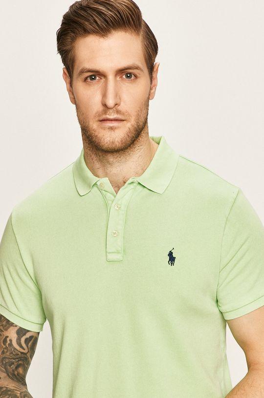 žlutě zelená Polo Ralph Lauren - Polo tričko