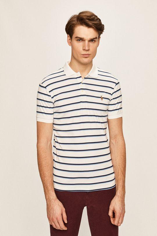 biela Polo Ralph Lauren - Pánske polo tričko