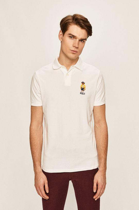 biela Polo Ralph Lauren - Pánske polo tričko Pánsky