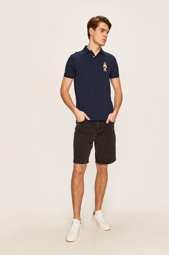 Polo Ralph Lauren - Pánske polo tričko tmavomodrá