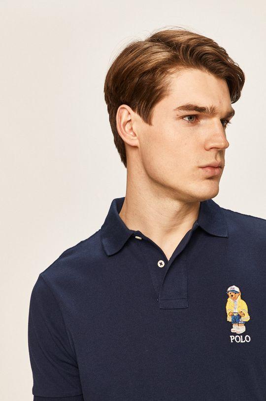 tmavomodrá Polo Ralph Lauren - Pánske polo tričko