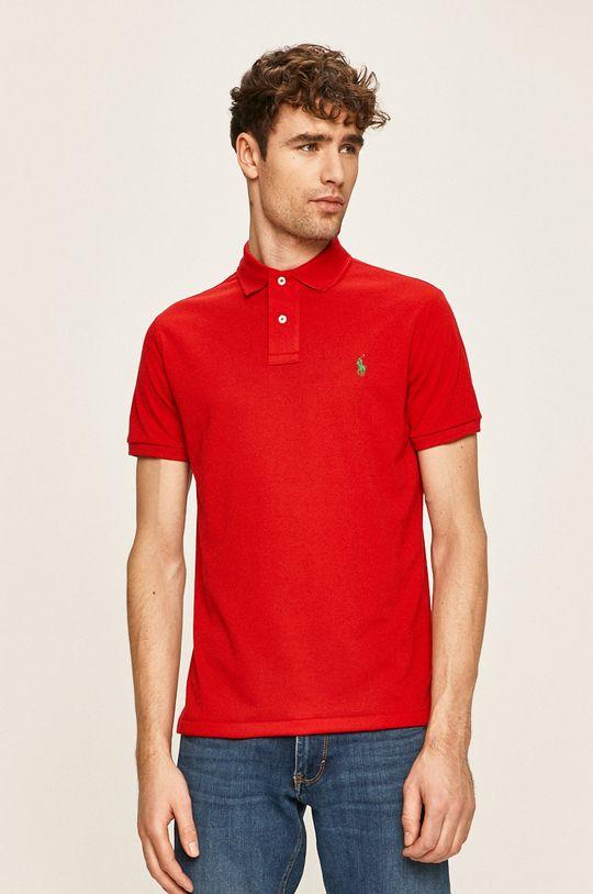 červená Polo Ralph Lauren - Polo tričko Pánský