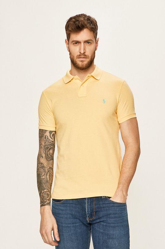 žlutá Polo Ralph Lauren - Polo tričko Pánský