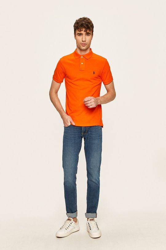 Polo Ralph Lauren - Polo tričko oranžová