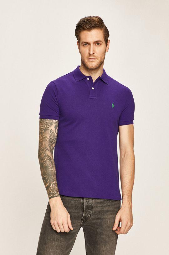 fialová Polo Ralph Lauren - Polo tričko Pánský