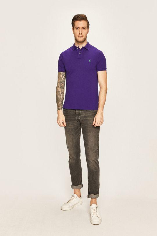 Polo Ralph Lauren - Polo tričko fialová