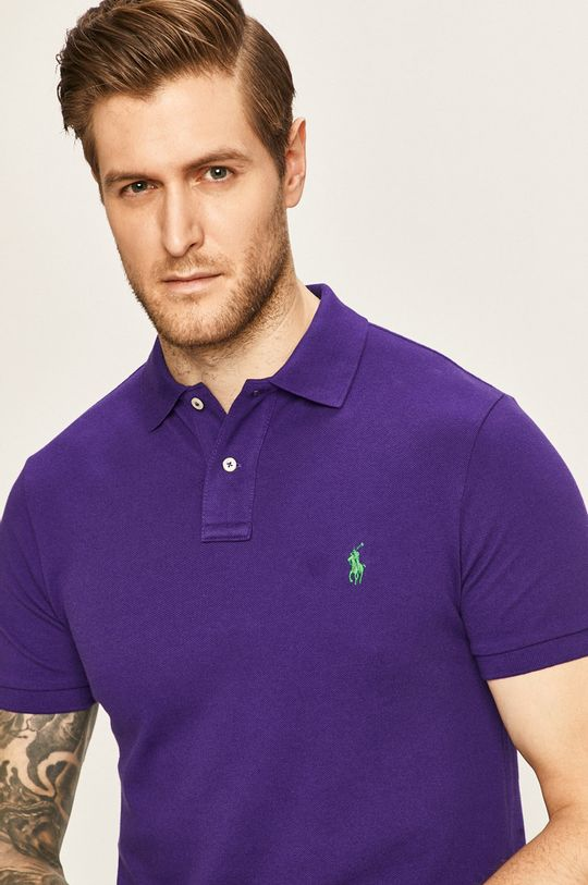 fialová Polo Ralph Lauren - Polo tričko