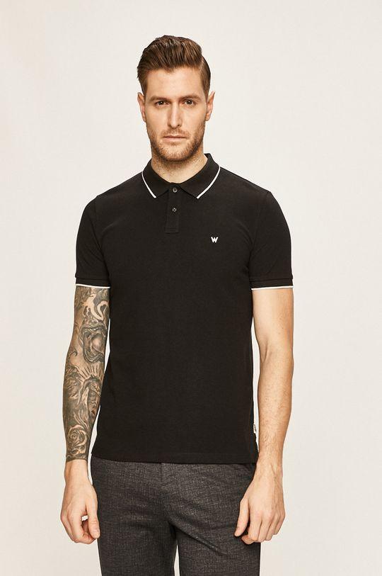negru Wrangler - Tricou Polo De bărbați