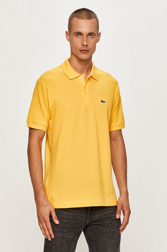 žltá Lacoste - Polo tričko Pánsky