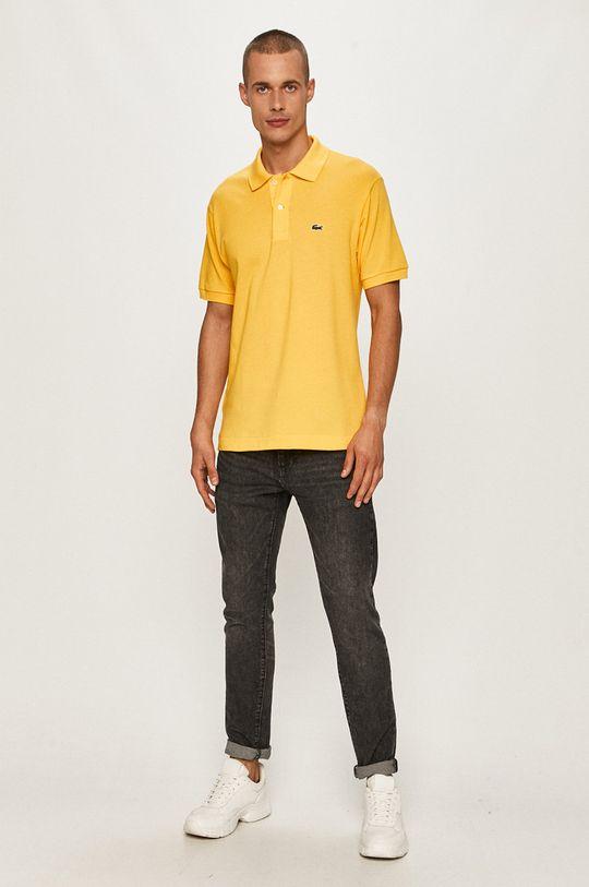Lacoste - Polo tričko žltá