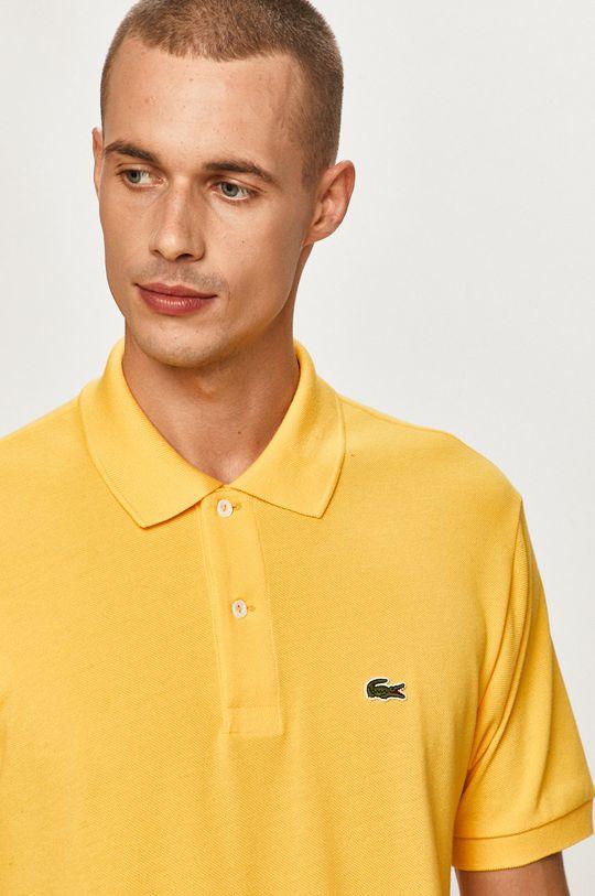 žltá Lacoste - Polo tričko