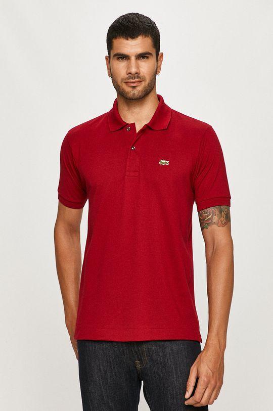 gaštanová Lacoste - Polo tričko Pánsky