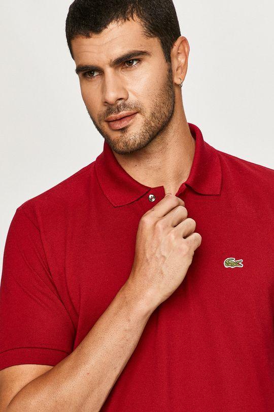 gaštanová Lacoste - Polo tričko