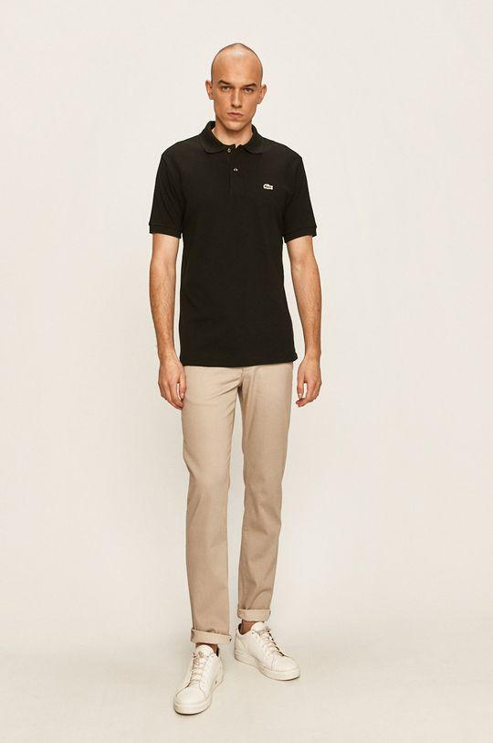 Lacoste - Polo tričko čierna