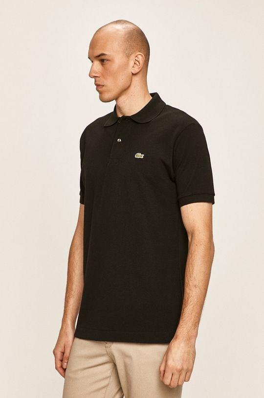 čierna Lacoste - Polo tričko