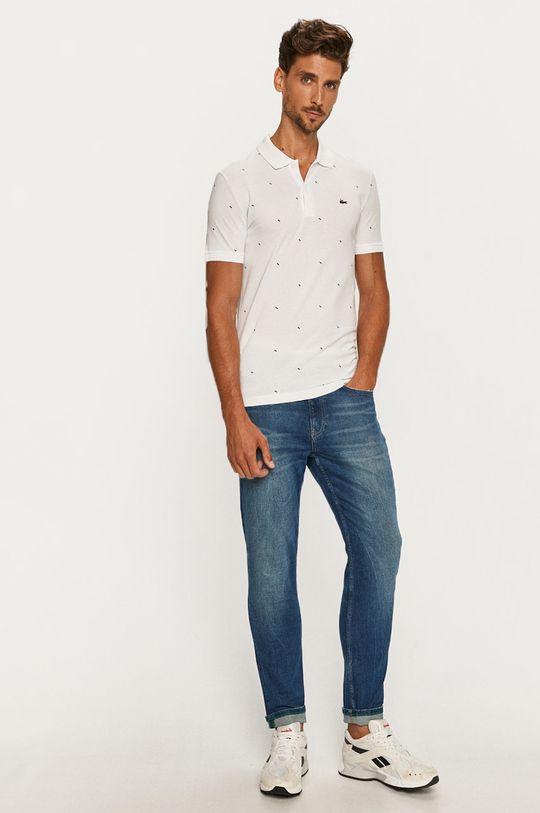 Lacoste - Polo tričko biela