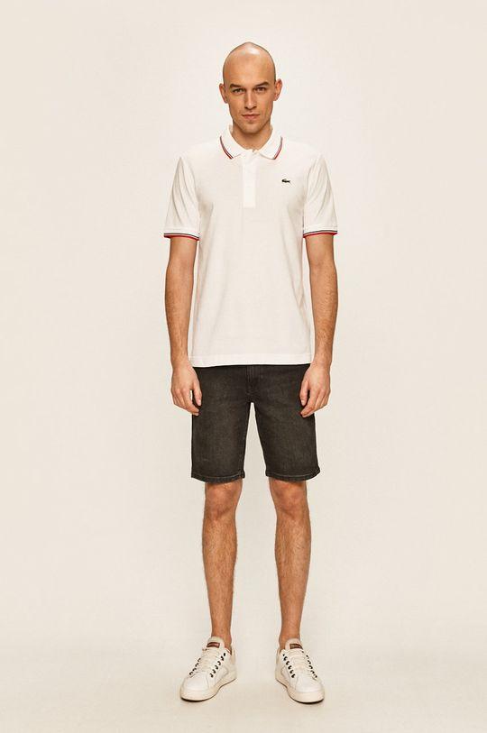 Lacoste - Pánske polo tričko biela