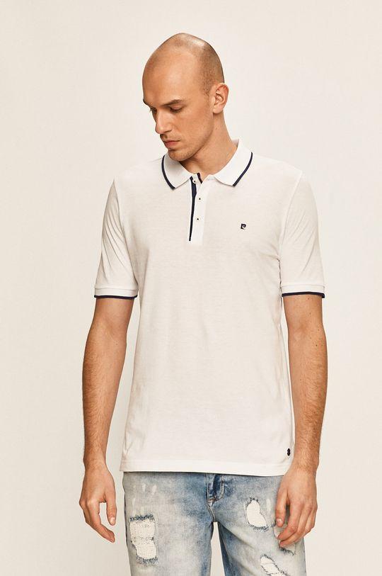 bílá Pierre Cardin - Polo tričko Pánský