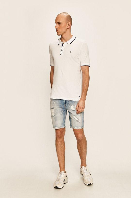 Pierre Cardin - Polo tričko bílá