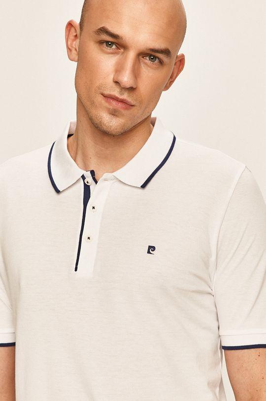 bílá Pierre Cardin - Polo tričko