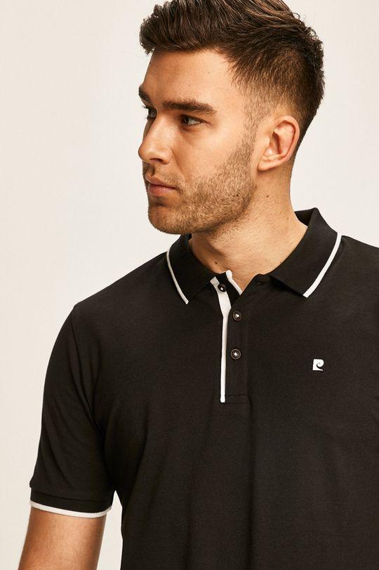 černá Pierre Cardin - Polo tričko