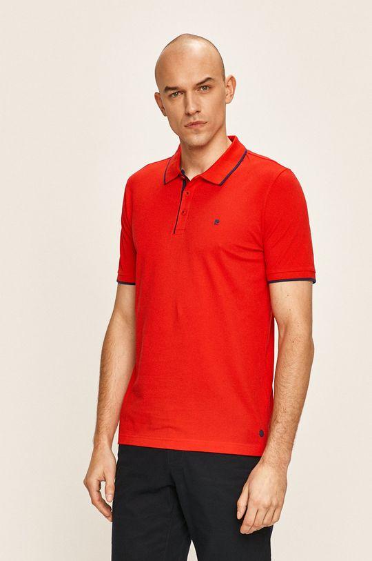 червен Pierre Cardin - Тениска с яка Чоловічий
