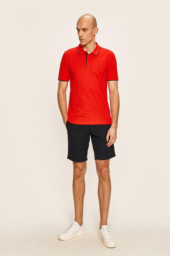 Pierre Cardin - Тениска с яка червен