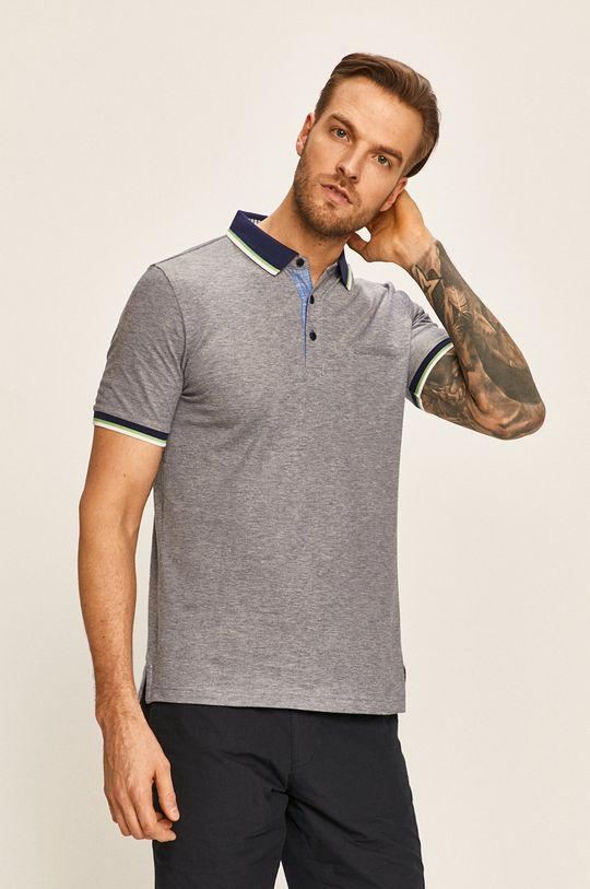 fialová Pierre Cardin - Polo tričko Pánský