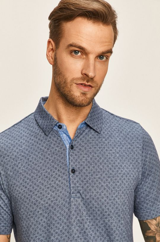 fialová Pierre Cardin - Polo tričko