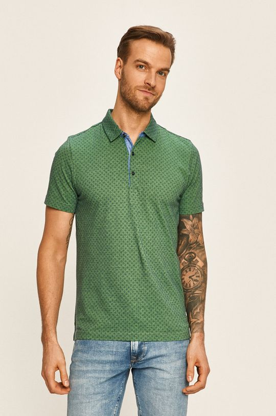 tyrkysová Pierre Cardin - Polo tričko