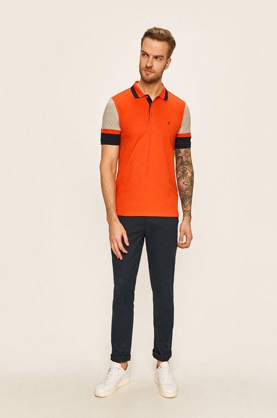 Pierre Cardin - Polo tričko ostrá červená
