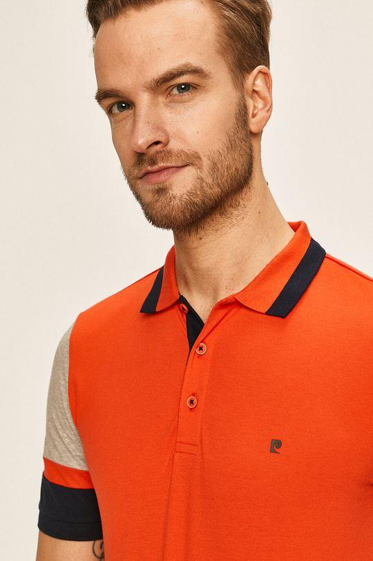 ostrá červená Pierre Cardin - Polo tričko
