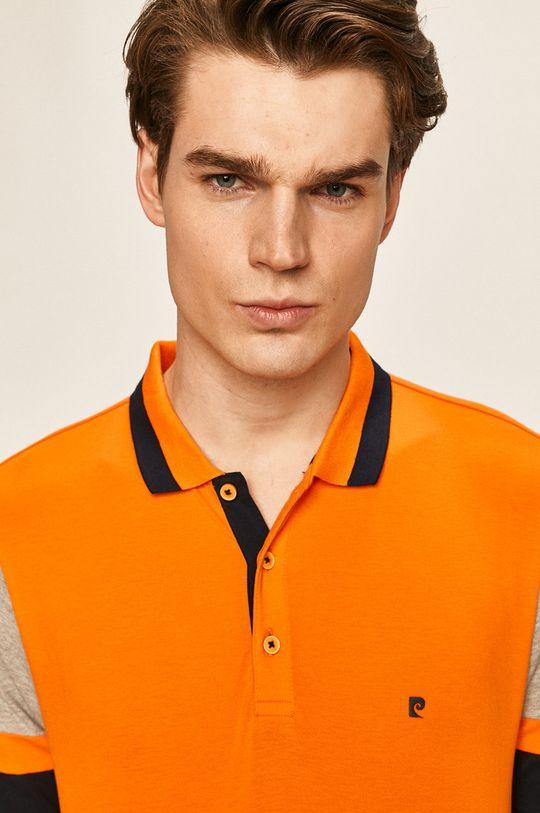 oranžová Pierre Cardin - Polo tričko