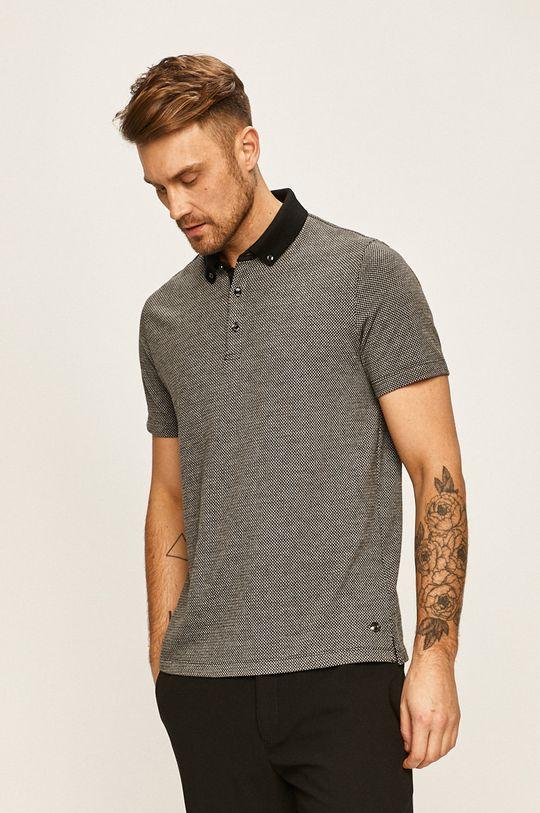 černá Pierre Cardin - Polo tričko Pánský