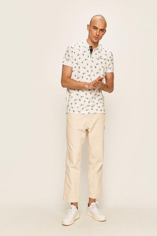 Pepe Jeans - Tricou Polo Lacy alb