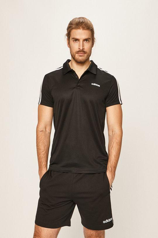 negru adidas - Tricou Polo